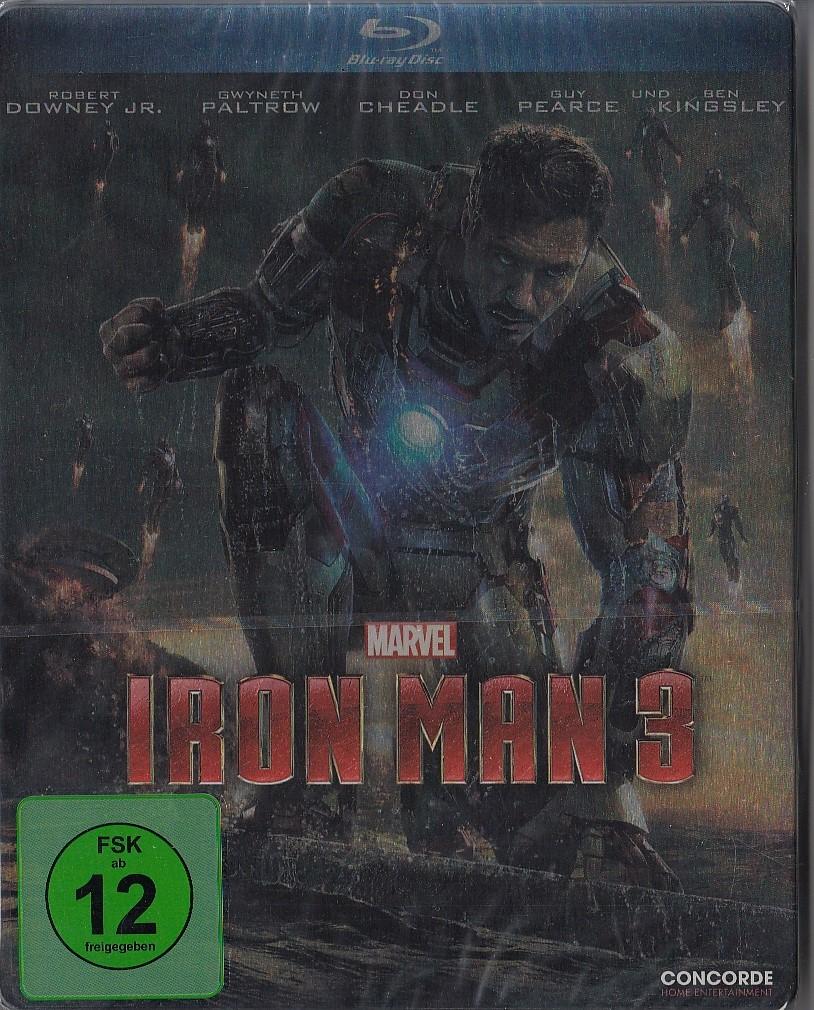 iron man 3 limited edition bluray steelbook neu amp ovp