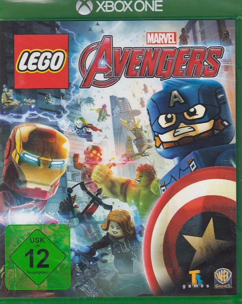 lego marvel avengers f r microsoft xbox one neu ovp. Black Bedroom Furniture Sets. Home Design Ideas