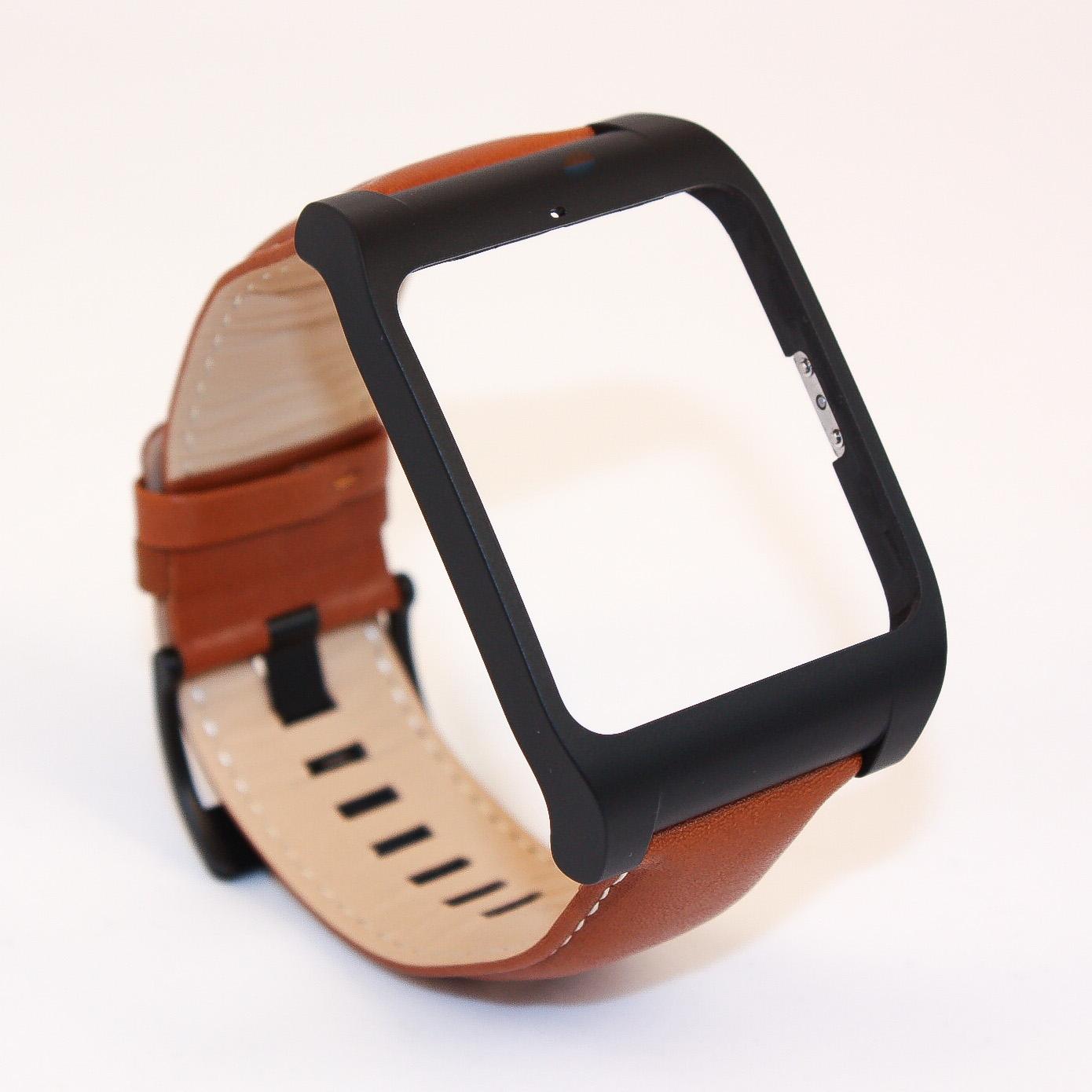 sony smartwatch 3 wrist strap swr510 leather bracelet