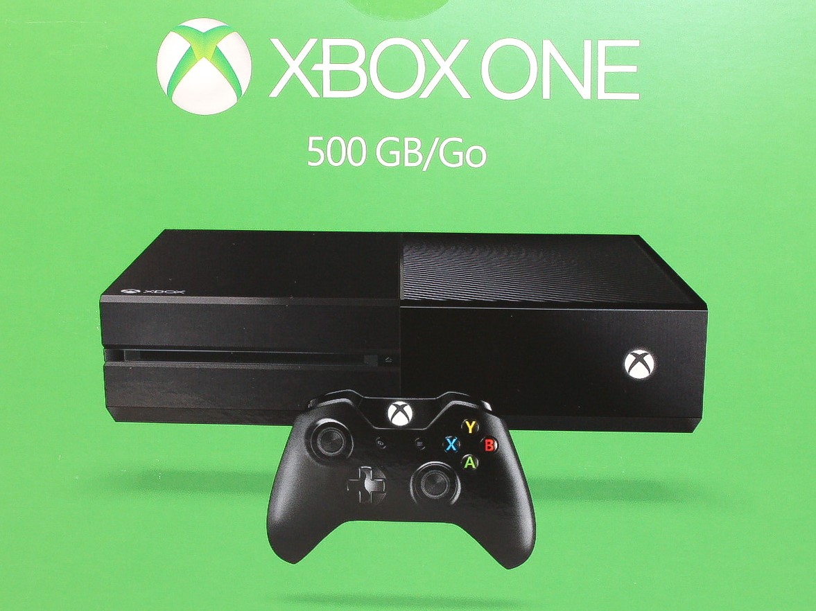 microsoft xbox one 500 go console de jeu console neuf. Black Bedroom Furniture Sets. Home Design Ideas