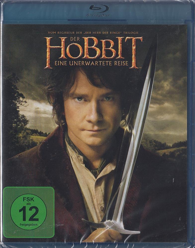 Der Hobbit - Eine unerwartete Reise Blu-ray NEU & OVP ...