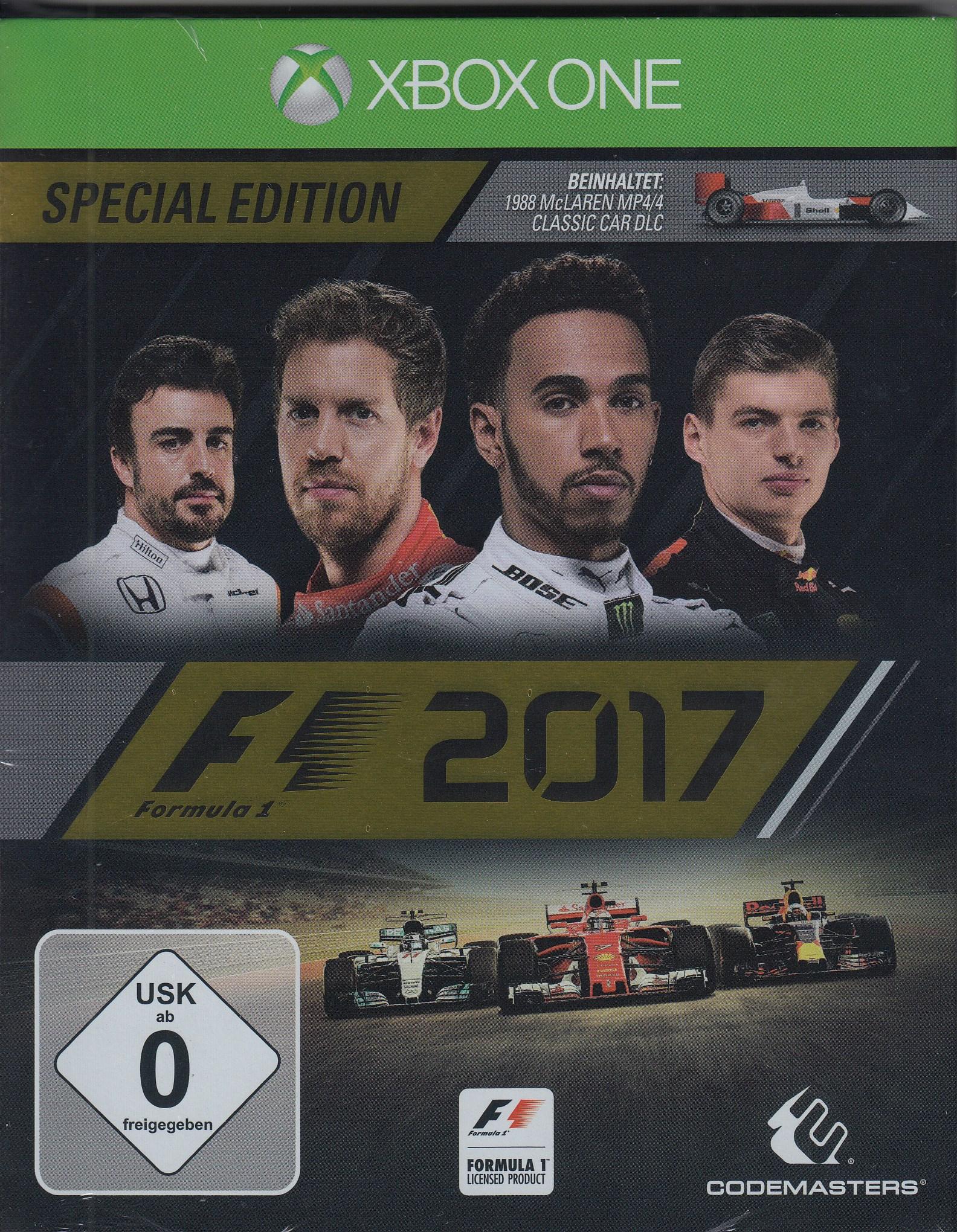 formel 1 f1 2017 special edition microsoft xbox one. Black Bedroom Furniture Sets. Home Design Ideas